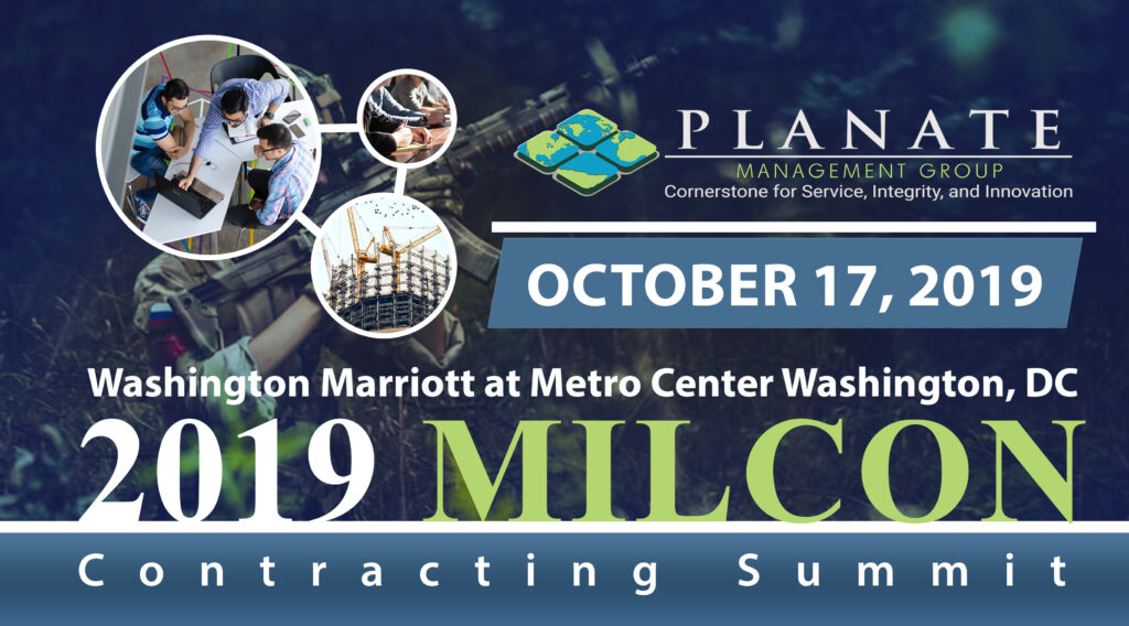 MILCON Contracting Summit poster