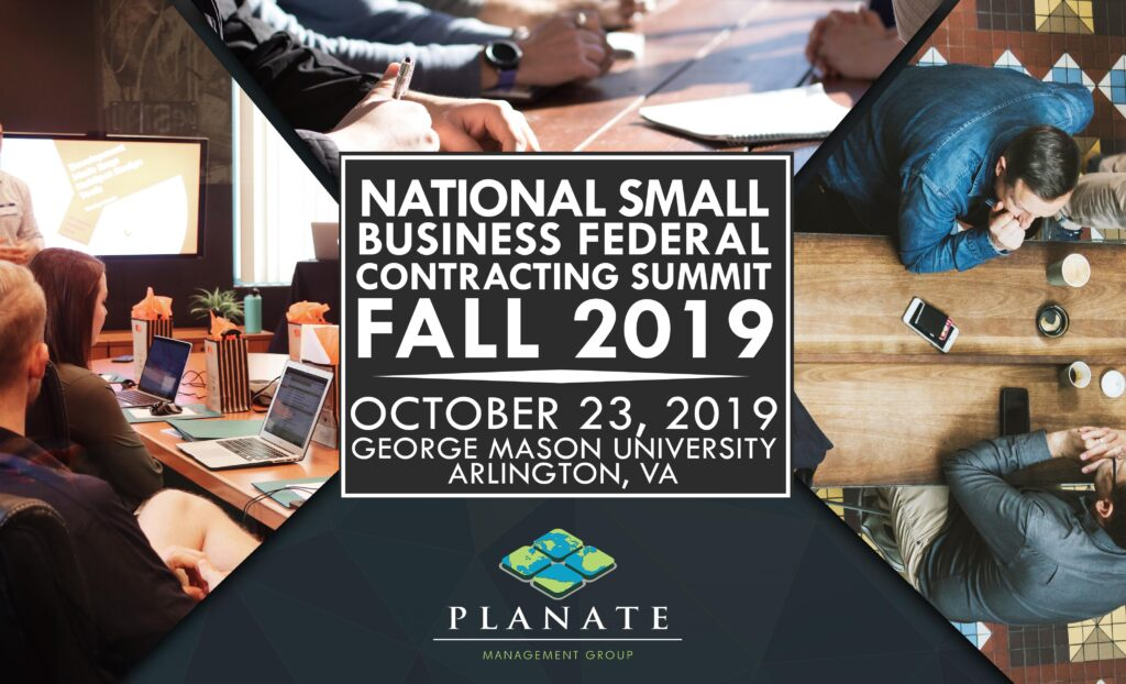National Small Business Federal Summit 2019 poster