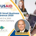 USAID Small Business Conference poster
